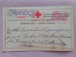 REGNO - Croce Rossa - Corrispondenza Prigioniero Di Guerra Italiano Dall'Ungheria + Spese Postali - 1900-44 Vittorio Emanuele III