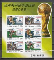 Football / Soccer / Fussball - WM 1998:  Korea  Kbg **, Imperf. - 1998 – France