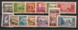 Grand Liban - 1925 - N°Yv. 50 à 62 - Série Complète - Neuf Luxe ** / MNH / Postfrisch - Grand Liban (1924-1945)