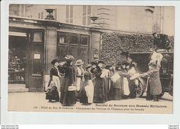 Societe De Secours Aux Blesses Militaires -- Hotel Du Duc De Camastra -- Cargement Des Vitures De Vetements Pour Les Ino - Paris (16)