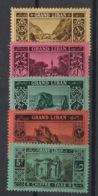 Grand Liban - 1925 - Taxe TT N°Yv. 11 à 15 - Série Complète - Neuf Luxe ** / MNH / Postfrisch - Grand Liban (1924-1945)
