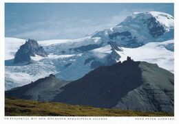 1 AK Island / Iceland * Der Öræfajökull Gletscher Mit Den Höchsten Bergen Islands * - Iceland