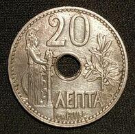 GRECE - 20 LEPTA 1912 - George I - KM 64 - Grecia