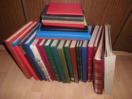 Posten Sammlung Alle Welt Übersee Europa Deutschland Incl älteren 25 Alben (35) - Sammlungen (im Alben)