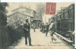 LOUANS - Gare De Chalon - Louhans