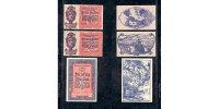LIECHTENSTEIN - 10 + 20 + 50 HELLER 1920 - PICK. 3 / UNC - Liechtenstein