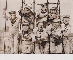 BOYS TRAINING SHIP STORK AT HAMMERSMITH CHRISTMAS CAROLS  20*15 Cm - Bateaux