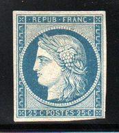 A SAISIR ** YT N° 4 Neuf * Signé Brun + Calves - Cote: 8500,00 € ** - 1849-1850 Ceres