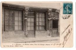 (28) 1370, Epernon, Cl Garnier 6, La Maison Julien, Place Du Change, Dos Non Divisé, état - Epernon