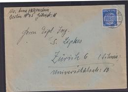 Deutsche Reich Zensur Brief EF 25 Pfg. Hindenburg Ab Berlin Nach Zürich Schweiz - Germany