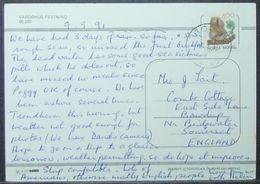 Norway - Postcard To England 1991 Fauna Squirrel 4K Solo - Norwegen