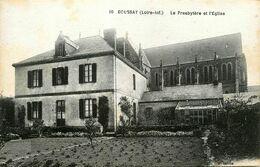 Boussay * Le Presbytère Du Village Et L'église - Boussay