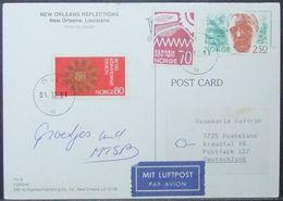Norway - Postcard To Germany 1991 - Norwegen