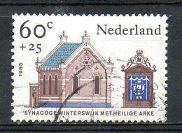 PAYS-BAS. N°1237 Oblitéré De 1985. Synagogue. - Mosques & Synagogues