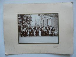 PHOTO ANCIENNE - MARIAGE A JANVILLE ;Joseph HARDY Et Suzanne BARBE - Personnes Identifiées