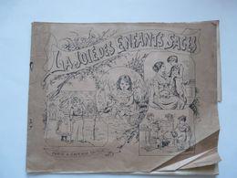 LA JOIE DES ENFANTS SAGES - PERSONNAGES A DECOUPER ET COLLER : La Récréation - La Dinette -PARIS A. CAPENDU EDITEUR - Colecciones