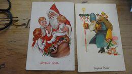 Petit Lot De Cartes Postales Sur Le Thème Du  PERE NOEL  …………………..OK-5367 - Natale