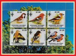 115.MAURITANIA 2002 STAMP S/S BIRDS, SCOUTS. MNH - Mauritanië (1960-...)