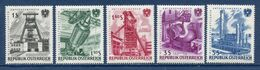 Autriche - YT N° 932 à 936 - Neuf Sans Charnière - 1961 - 1945-.... 2. Republik