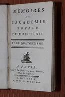 Mémoires De L'Académie Royale De Chirurgie - 1774 - Tome 14 - - Boeken, Tijdschriften, Stripverhalen