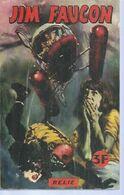 JIM FAUCON Reliure N° 1 ( N° 1 + 2 ) - DE POCHE 1968 - Petit Format