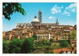 Siena - Panorama Con Vista Sulla Cattedrale - Siena
