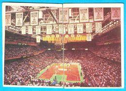 BOSTON GARDEN (Boston Celtics - NBA) - Yugoslav Old Basketball Card (1987) *  Basket-ball * Boston Bruins NHL Hockey RRR - Singles (Semplici)