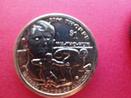 Etats-unis  1 Dollar  Sacagawea  2018 D  Jim Thorpe  Km !!! - Émissions Fédérales