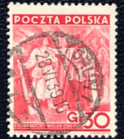 Polska - Poland - P1/30 - (°)used  - 1938 - 20 Jaar Republiek Polen -  Michel Nr. 336 - 1919-1939 Republik
