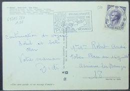 Monaco - Postcard To France 1971 Cactus - Sukkulenten