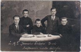 """Lithuania Lietuva 1929 Aukstadvaris Trakai, Aukstadvario """"Jaunosios Lietuvos""""ratelio Valdyba - Lituania"""