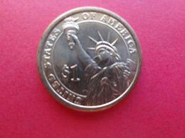 Etats-unis  1 Dollar President Lyndon-b-johnson 2015 P  Km 609 - Émissions Fédérales