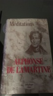 """Livre De Poche - """"Médiations""""  ALPHONSE DE LAMARTINE  (bibliothèque LALLES) - Poesia"""