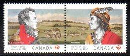 CANADA 2725/26 Emission Commune - American Indians