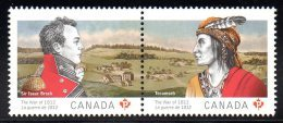 CANADA 2725/26 Emission Commune - Indiani D'America