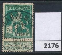Nr   110  Met Stempel   Harvengt - 1912 Pellens