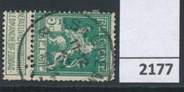 Nr   110  Met Stempel   Iseghem - 1912 Pellens
