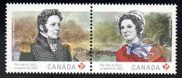 CANADA 2873/74 Celebrites, Costumes - History