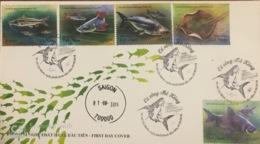 FDC Viet Nam Vietnam 2019 : Mekong River Fishes / Fish (Ms1112) - Vietnam
