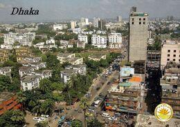 1 AK Bangladesch * Blick Auf Die Hauptstadt Dhaka - Luftbildaufnahme - Mit Dem Wappen Von Bangladesch * - Bangladesh