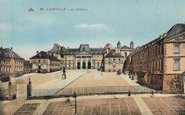 CARTE POSTALE ORIGINALE ANCIENNE : LUNEVILLE LE CHATEAU MEURTHE ET MOSELLE (54) - Luneville
