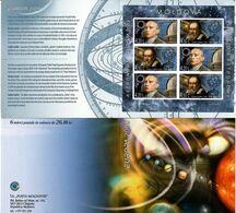 Moldova 2009 . EUROPA 2009. Imperf Booklet/sheetlet Of 6 (3 Sets). Michel # MH 11B - Moldavia