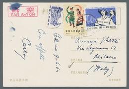 China - Volksrepublik: 1962, Sonderausgabe Revolutionäres Kuba, Höchstwert 22 Fen Auf Bedarfs-Ansich - Covers & Documents