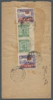 China - Volksrepublik - Provinzen: SÜDCHINA; 1949, Etwas Unruhig Geöffneter Brief Von Kwangtung Nach - 1949 - ... People's Republic