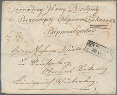"Georgien - Vorphilatelie: 1853, TIFLIS, Cover Bearing Oval ""1853 Tiflis"" Datestamp On Reverse To Bac - Georgia"