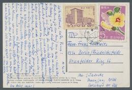 Korea-Nord: 1968-69, Zwei Bildpostkarten Aus Pyöngyang, Voll Beschrieben Und Versendet Von Einer Mit - Korea, North
