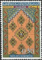 ALGERIA 1968 Algerian Carpets - 30c Nememcha Carpet FU - Algérie (1962-...)