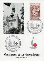 TOULOUSE (HAUTE GARONNE) : CENTENAIRE DE LA CROIX-ROUGE 1963 Oblitération Temporaire Sur CARTE POSTALE - Rotes Kreuz