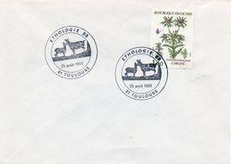 TOULOUSE (HAUTE GARONNE) : ETHOLOGIE 1985 Oblitération Temporaire - Briefmarken