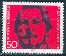 BRD - Mi 657 - ** Postfrisch (D) - 50Pf               Engels - [7] Federal Republic